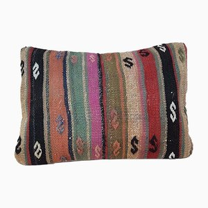 Kilim Lumbar Pillow from Vintage Pillow Store Contemporary