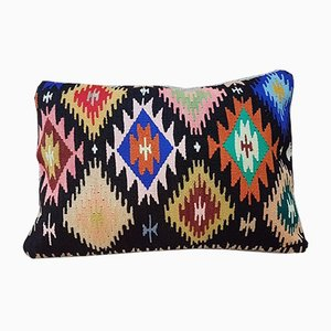 Bohemian Woven Pillow Cover from Vintage Pillow Store Contemporary