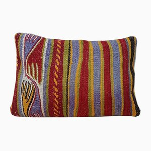 Housse de Coussin Kilim Brodée de Vintage Pillow Store Contemporary