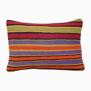 Bohemian Lumbar Kilim Pillow Cover from Vintage Pillow Store Contemporary