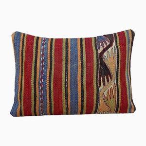 Handgewebter türkischer Kelim Kissenbezug von Vintage Pillow Store Contemporary