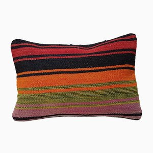 Rectangular Bohemian Kilim Lumbar Pillow Cover from Vintage Pillow Store Contemporary