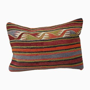 Turkish Bohemian Kilim Pillow Cover from Vintage Pillow Store Contemporary