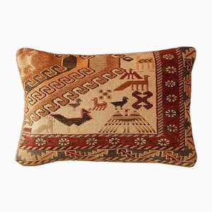 Bohemian, Chic, Handwoven Animal Pillow Cover from Vintage Pillow Store Contemporary
