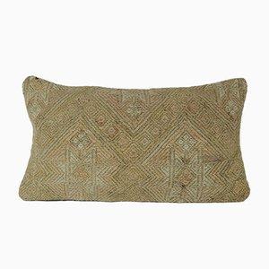 Housse de Coussin Kilim en Laine Décolorée Tissée à la Main de Vintage Pillow Store Contemporary