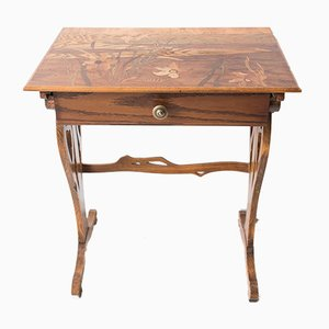 Antique Side Table from Gallé