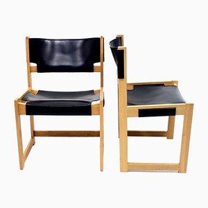 Vintage Stühle von Sven Kai Larsen für Nordiska Kompaniet, 2er Set