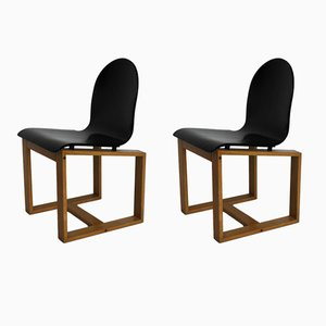 Italian Chairs, 1970s, Set of 2
