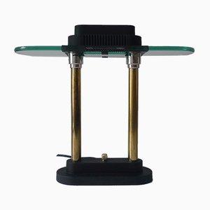 Lampada da tavolo postmoderna di Robert Sonneman per George Kovacs, anni '80