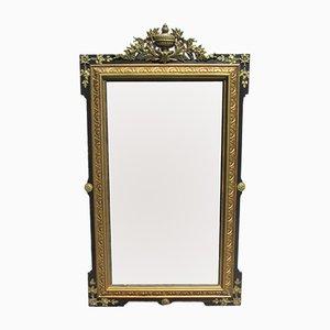 Großer antiker Napoleon III Spiegel