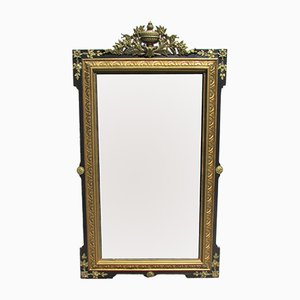 Large Antique Napoleon III Mirror