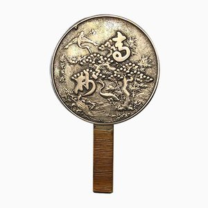 Antique Qing Period Dragon Bronze Mirror