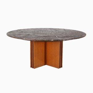 Table Basse en Pierre Fossile par Heinz Lilienthal, 1980s
