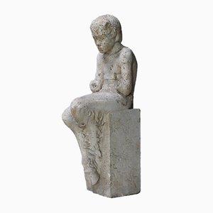 Antike griechische Mythologie Gipsstatue des Satyrn