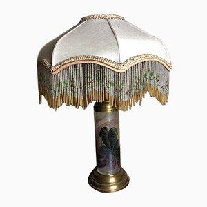 Lámpara de mesa estilo rococó, años 60