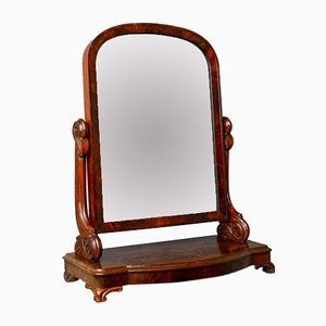 Antique Art Nouveau Dressing Table Mirror, 1890s