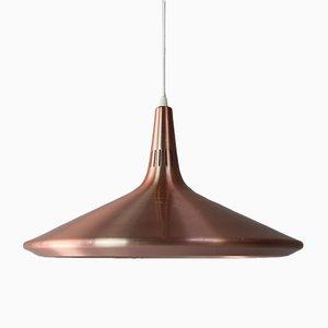 Lámpara de techo danesa Mid-Century, años 70