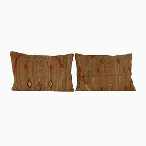 Turkish Wool Kilim Pillow Covers from Vintage Pillow Store Contemporary, Set of 2