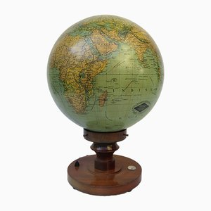 Vintage Illuminating Earth Globe from Columbus-Verlag GmbH