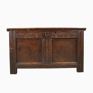 Antique English Coffer, 1700s