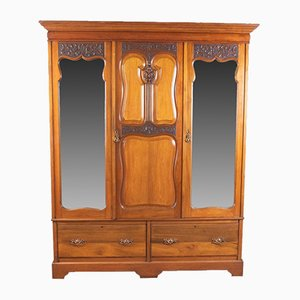 Antique English Wardrobe, 1900s