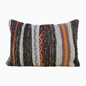 Handgewebter Kelim Kissenbezug aus Wolle von Vintage Pillow Store Contemporary