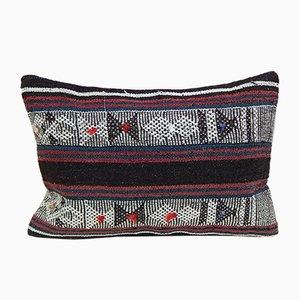 Grande Housse de Coussin Lumbar Kilim Mudcloth de Vintage Pillow Store Contemporary