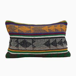 Housse de Coussin Rectangulaire Kilim de Vintage Pillow Store Contemporary, Turquie