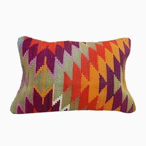 Housse de Coussin Coussin Lumbar Kilim de Vintage Pillow Store Contemporary