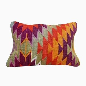 Lumbar Kilim Throw Pillow from Vintage Pillow Store Contemporary