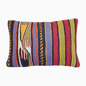 Patterned Kilim Pillow Cover from Vintage Pillow Store Contemporary