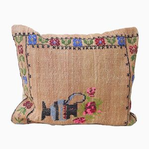 Kilim Lumbar Pillow Cover with French Decor from Vintage Pillow Store Contemporary