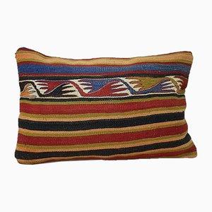Kelim Kissenbezug mit Bohemien-Muster von Vintage Pillow Store Contemporary