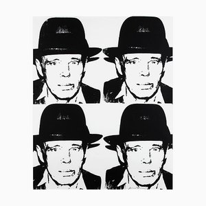 Vintage Joseph Beuys Serigraph by Andy Warhol, 1983