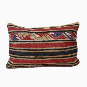 Türkischer Kelim Kissenbezug mit Bohemien-Muster von Vintage Pillow Store Contemporary