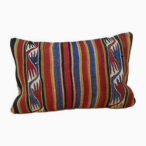 Turkish Wool Kilim Pillow Cover from Vintage Pillow Store Contemporary