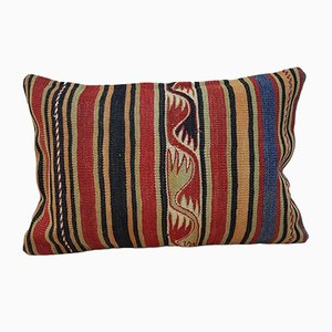 Handgemachter türkischer Kelim Kissenbezug von Vintage Pillow Store Contemporary
