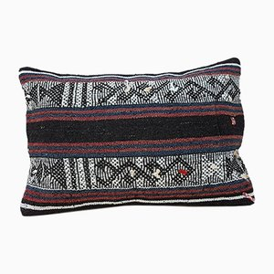 Handwoven Wool Kilim Pillow Cover from Vintage Pillow Store Contemporary