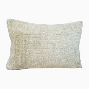 Oushak Bohemian Wool Rug Pillow Cover from Vintage Pillow Store Contemporary