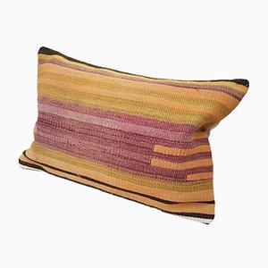 Pastellfarbener Landhaus Kelim Kissenbezug von Vintage Pillow Store Contemporary