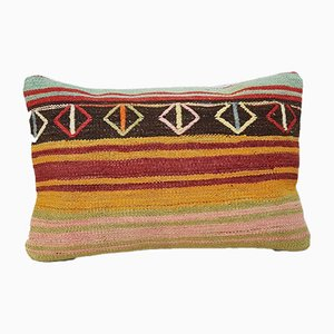 Turkish Handmade Kilim Pillow Cover from Vintage Pillow Store Contemporary