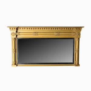 Antique English Overmantel Mirror, 1800s