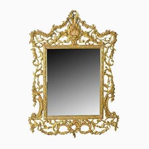 Specchio a muro vintage Art Déco, anni '40