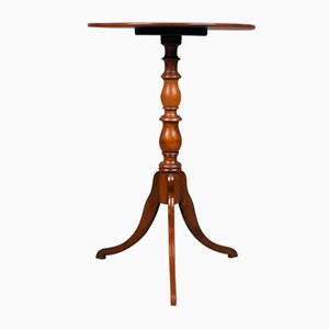 Antiker Weintisch aus Mahagoni, 1820er