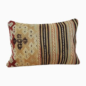Hand-Embroidered Kilim Pillow Cover from Vintage Pillow Store Contemporary