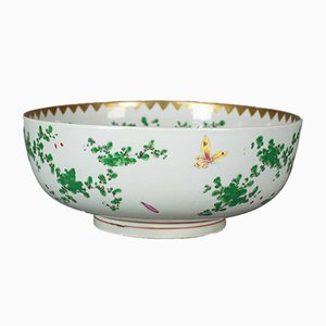 Large Chinese Porcelain Lychee Bowl, 1970s