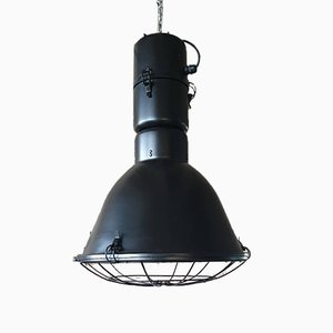 Large Industrial Factory Lamp by Polam Elgo, 1987