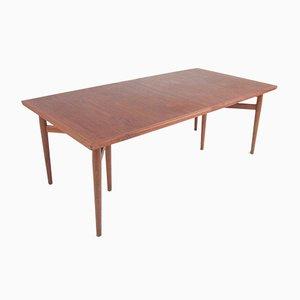 Tavolo da pranzo in teak di Arne Vodder per Sibast, anni '60