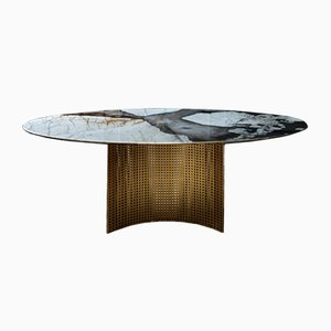 Lunette Dining Table from Alex Mint