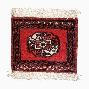 Vintage Afghan Ersari Mat, 1970s